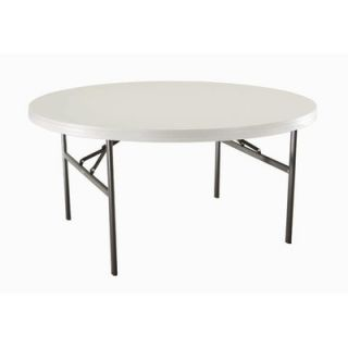 Lifetime 60 Round Commercial Grade Table in White