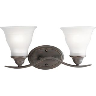 Progress Lighting Trinity Vanity Light in Antique Bronze   P3191 20