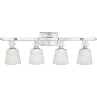 Quoizel Deluxe Vanity Light in Polished Chrome