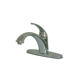 Elements of Design Vintage Single Handle Centerset Kitchen Faucet with