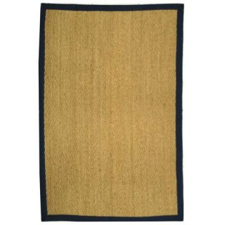 Safavieh Natural Fiber Natural/Blue Rug   NF115E RE