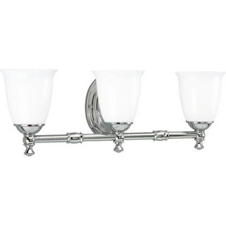 Progress Lighting Victorian Polished Chrome Vanity Light   P3029