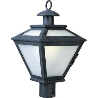 Maxim Lighting Cabo ES Outdoor Post Lantern in Country Forge