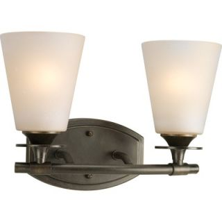 Progress Lighting Cantata Vanity Light in Forged Bronze   P3222 77