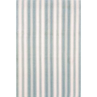 Dash and Albert Rugs Woven Light Blue/Ivory Rug