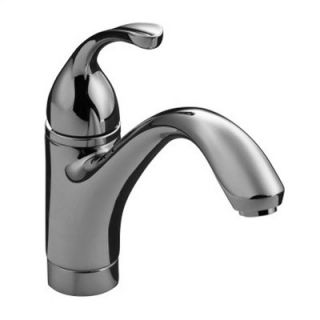 Kohler Forte Single Handle Single Hole Kitchen Faucet with Lever