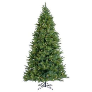 Vickerman Butte Mixed Pine 9 Artificial Christmas Tree with Clear
