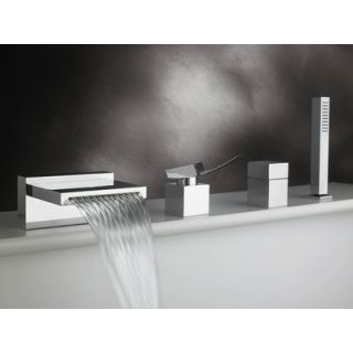Artos Quarto Single Handle Deck Mount Roman Tub Faucet Trim