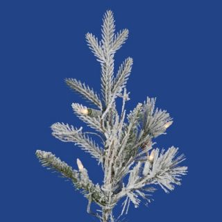 Vickerman Frosted Wistler Fir 7.5 Artificial Christmas Tree with