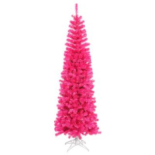 Vickerman 7.5 Artificial Christmas Tree in Pink