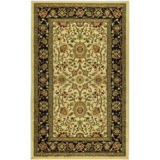 Safavieh Lyndhurst Ivory/Black Rug   LNH212B RE