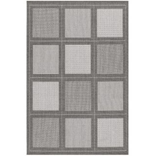 Couristan Recife Summit Grey/White Rug   1043/3012
