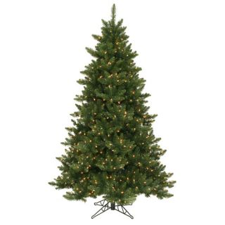 Camdon Fir 7.5 Artificial Slim Christmas Tree with LED Lights