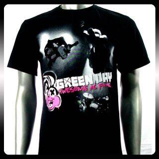 Green Day Billie Joe Punk Rock Band T Shirt Sz XXL 2XL GR10