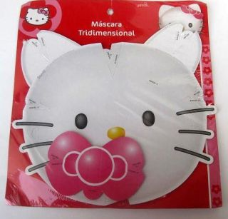 Hello Kitty Party Decoration Supplies Favor Masks x18 Birthday Treats