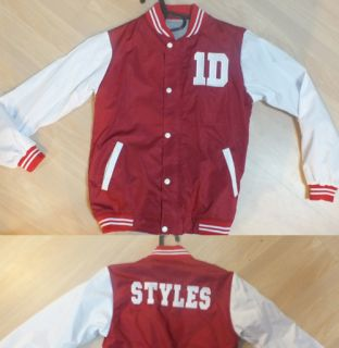 Harry Styles Varsity Jacket