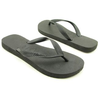 Havaianas Top Youth Kids Boys Size 4 Black Synthetic Flip Flops