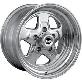 Ridler Pro Star 15x10 Polished Wheel / Rim 5x4.5 with a  44mm Offset
