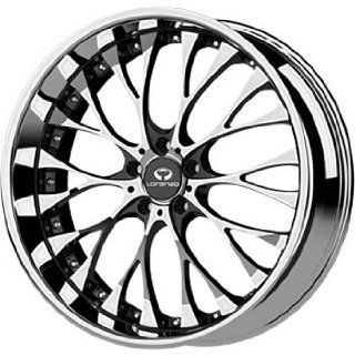 Lorenzo WL027 20x10 Chrome Wheel / Rim 5x112 with a 40mm Offset and a