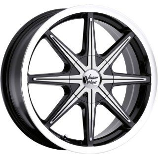 Vision Kryptonite 16 Machined Black Wheel / Rim 5x100 & 5x4.5 with a