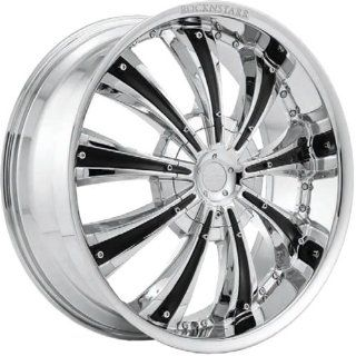 RockNStarr Genesis 22 Chrome Wheel / Rim 8x6.5 with a 15mm Offset and