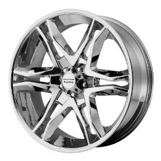 American Racing Mainline 17x8 Chrome Wheel / Rim 6x135 with a 25mm