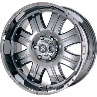 American Racing ATX Punisher 20x9.5 Black Chrome Wheel / Rim 8x170