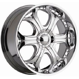Akuza Spur 20x9 Chrome Wheel / Rim 6x4.5 & 6x5 with a 35mm Offset and