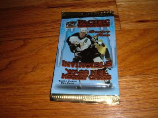 1997 98 Pacific Invincible NHL Hockey Trading Card Pack