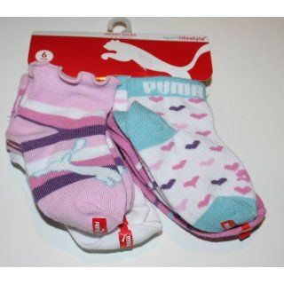 Baby/Infant Socks 6 Pair Size 12 24 Months   Multi Color Print Baby