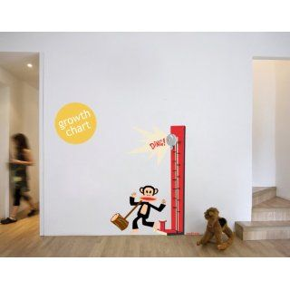 Paul Frank Julius Growth Chart Hammer Meter Wall Sticker