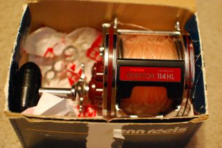 Penn Senator 114HL 6 0 Big Game Fishing Reel Shark Tuna