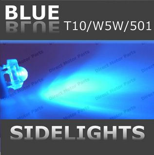 Honda Legend 1996 Bright Blue LED Sidelight Bulb 501