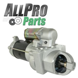 New Chevy GMC Truck Starter 6 2 6 5 Diesel High Torque
