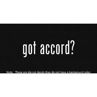 (2x) Got Accord   Sticker   Decal   Die Cut   Vinyl
