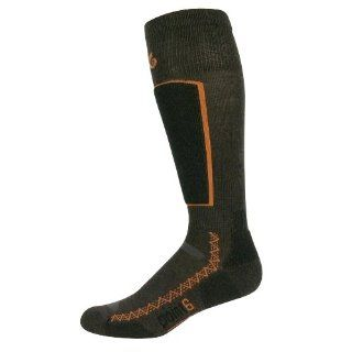 point6 Womens Ski Light Cushion Otc Socks, Chestnut/Rust