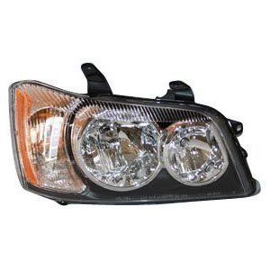 20 6173 00 Toyota Highlander Passenger Side Headlight Assembly
