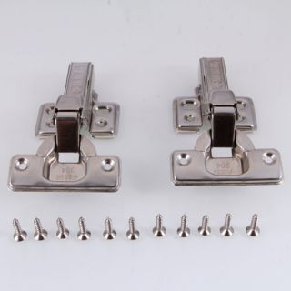 New Stainless steel Cabinet Door Hinges Full Wrap Self Closing Hinge