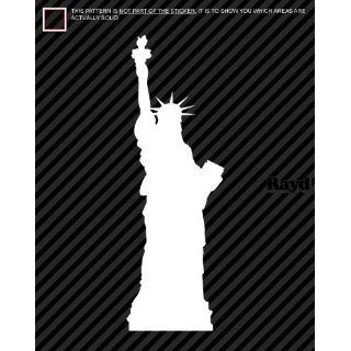 (2x) Statue of Liberty   Sticker   Decal   Die Cut
