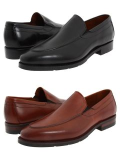 Allen Edmonds Mens Hillsborough Black or Chili Brown Casual Loafers