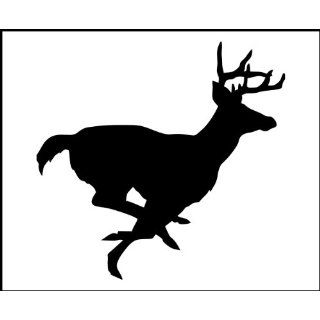 12 Vinyl Decal   Hunting / Outdoors   Running Deer