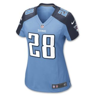 Nike NFL Tennessee Titans Chris Johnson Womens Replica Jersey