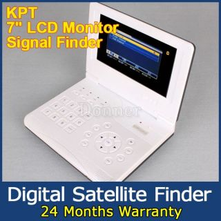 lcd monitor digital satellite signal finder meter tv receiver 7 inch