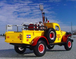 Last RARE 1949 Colorado Fire Rescue Dodge Power Wagon Firetruck First