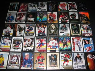 Huge Auto Jersey Patch Rookie RC Hockey Sports Card Collection Lot