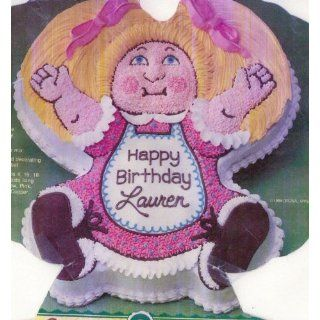 Wilton Cake Pan Cabbage Patch Kids Baby Doll Dolly Cake