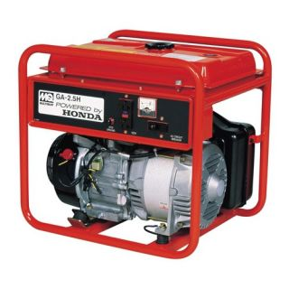Recoil Start 2500 Watt Honda GX160 Portable Generator GA25H