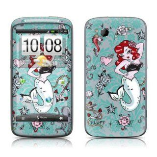 Molly Mermaid Design Protective Skin Decal Sticker for HTC