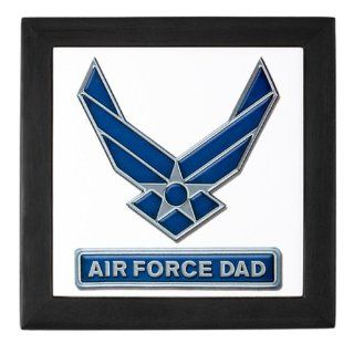 Keepsake Box Black Air Force Dad