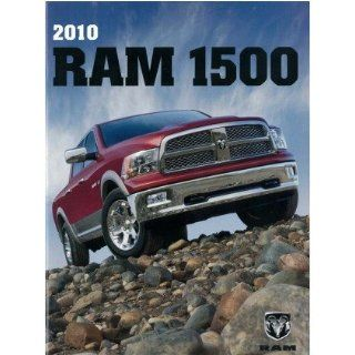2010 Dodge Ram 1500 Pickup Truck Sales Brochure Literature Book